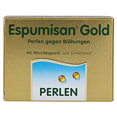 Espumisan Gold 40 Stück - Vorderseite