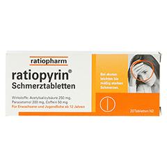 RatioPyrin Schmerztabletten 20 Stück N2 - Vorderseite