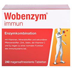 WOBENZYM immun Tabletten 240 Stück - Vorderseite