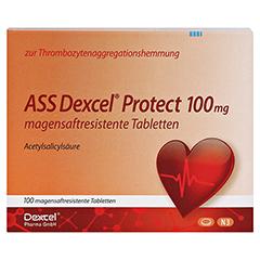 ASS Dexcel Protect 100mg 100 Stück N3 - Vorderseite