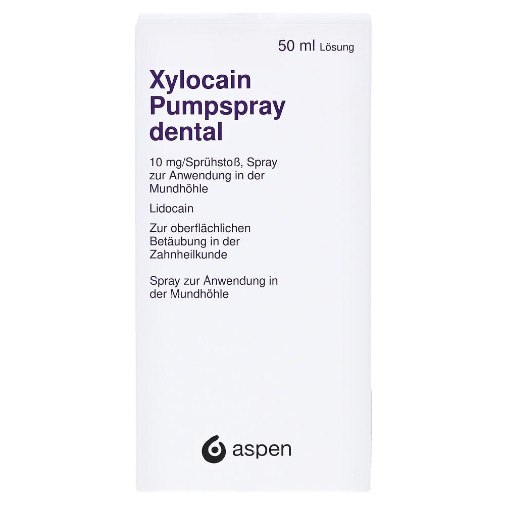 Xylocain pumpspray dental erfahrungen