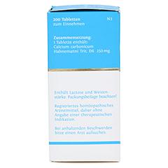 BIOCHEMIE DHU 22 Calcium carbonicum D 6 Tabletten 200 Stück N2 - Linke Seite