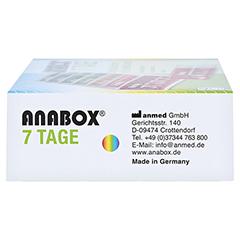 ANABOX 7 Tage Regenbogen 1 Stück - Linke Seite