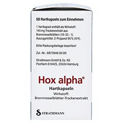 Hox alpha 50 Stück N2 - Linke Seite