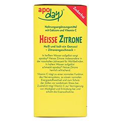 APODAY heiße Zitrone Vit.C u.Calcium zuckerfr.Plv. 10x10 Gramm - Linke Seite