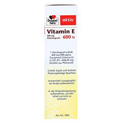 DOPPELHERZ Vitamin E 600 N Weichkapseln 80 Stück - Rechte Seite