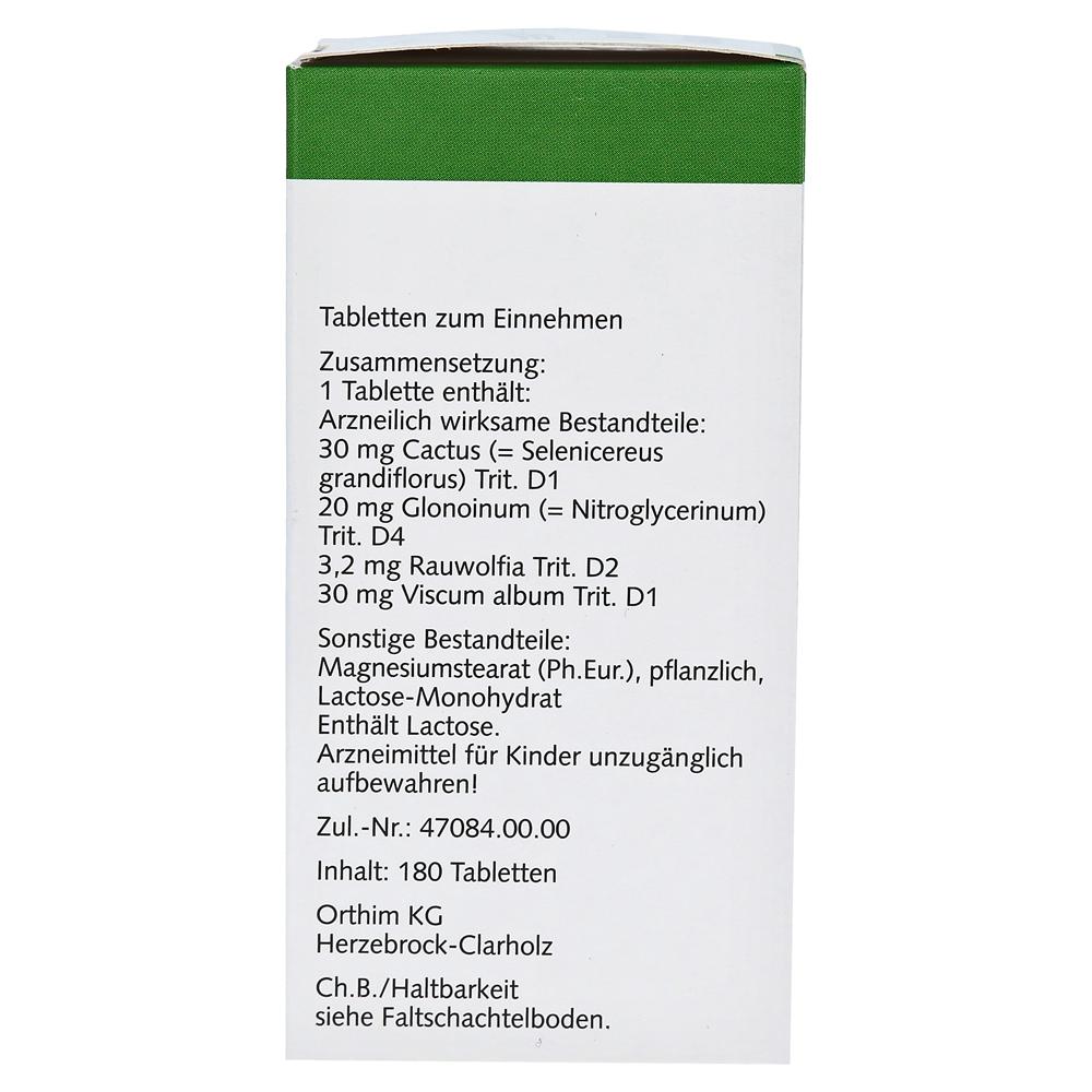 Erfahrungen Zu Homeo Orthim Tabletten 180 Stück N2 Medpex