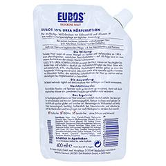 EUBOS TROCKENE Haut Urea 10% Körperlotion Nachf.B. 400 Milliliter - Rückseite