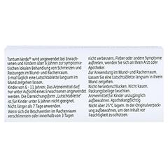 TANTUM VERDE 3 mg Lutschtabl.m.Zitronengeschmack 20 Stück N1 - Rückseite