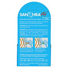 SANOHRA fly Ohrenschutz f.Erwachsene 2 Stück - Rückseite