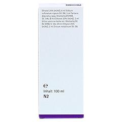 PHÖNIX URTICA arsenicum spag.Mischung 100 Milliliter N2 - Rückseite