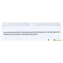 TANTUM VERDE 3 mg Lutschtabl.m.Zitronengeschmack 20 Stück N1 - Oberseite