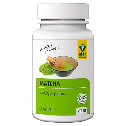 MATCHA Bio Raab Kapseln 60 Stück