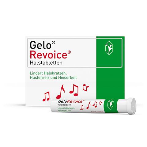 GeloRevoice Halstabletten Kirsch-Menthol 60 Stück