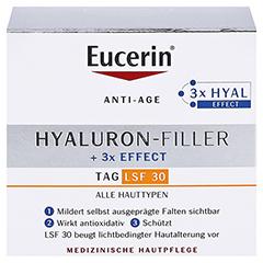 Eucerin Hyaluron-Filler Tagespflege LSF 30 + gratis Eucerin Dermatoclean Mizellen-Reinigung 100ml 50 Milliliter - Vorderseite