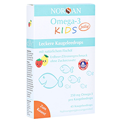 Norsan Omega-3 Kids Jelly Dragees 45 Stück