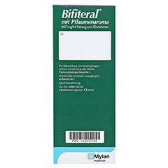 Bifiteral mit Pflaumenaroma 667mg/ml 500 Milliliter N2 - Rückseite