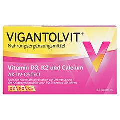 VIGANTOLVIT Vitamin D3 K2 Calcium Filmtabletten 30 Stück - Vorderseite