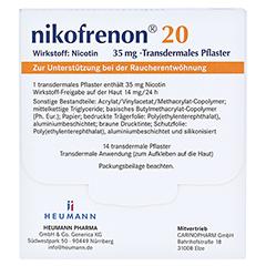 Nikofrenon 20 Heumann 14 Stück - Rückseite
