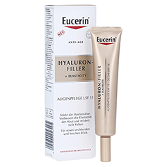 EUCERIN Anti-Age HYALURON-FILLER+Elasticity Auge 15 Milliliter