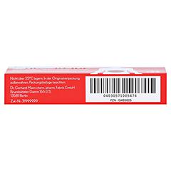 Kohle Dr. Mann Tabletten 20 Stück - Unterseite