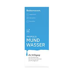 BAKANASAN Propolis Mundwasser 50 Milliliter