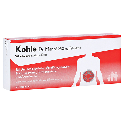 Kohle Dr. Mann Tabletten 20 Stück