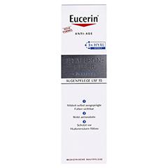 Eucerin Hyaluron-Filler Augenpflege + gratis Eucerin Dermatoclean Mizellen-Reinigung 100ml 15 Milliliter - Vorderseite