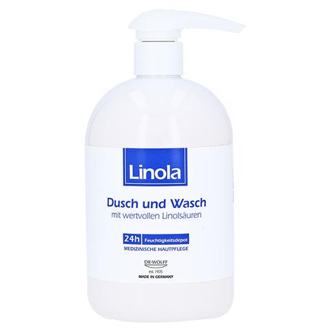 LINOLA Dusch und Wasch m.Spender 500 Milliliter