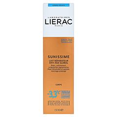 LIERAC Sunissime Körper After Sun Milch 150 Milliliter - Rückseite