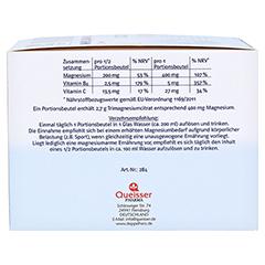 Doppelherz system Magnesium 400 Citrat mit Orange-Granatapfel-Geschmack 40 Stück - Linke Seite