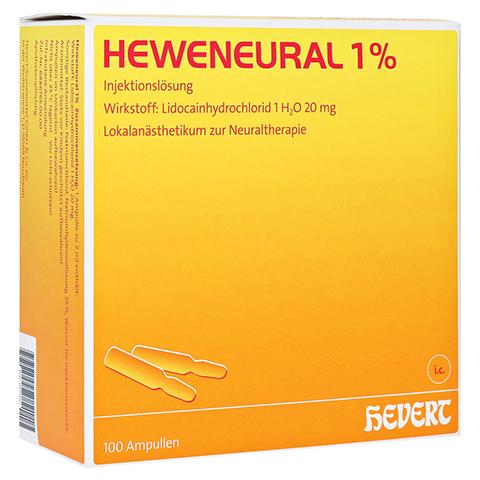 HEWENEURAL 1% Ampullen 100x2 Milliliter
