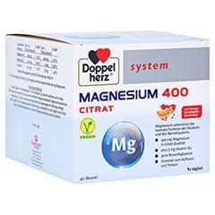 Doppelherz system Magnesium 400 Citrat mit Orange-Granatapfel-Geschmack 40 Stück