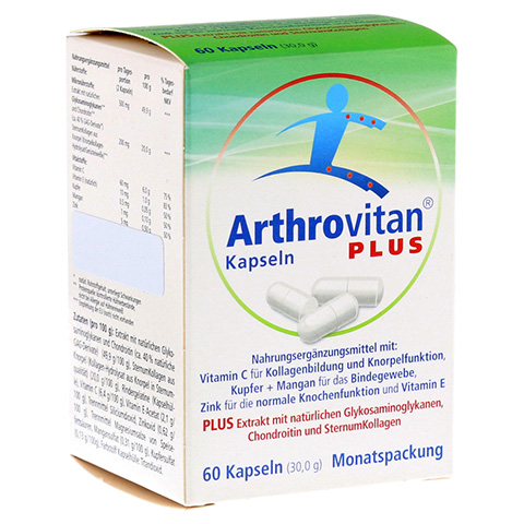 ARTHROVITAN Plus Kapseln 60 Stück