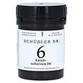SCHÜSSLER Nr.6 Kalium sulfuricum D 6 Tabletten 400 Stück