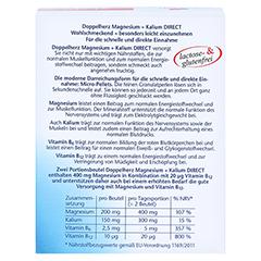 Doppelherz aktiv Magnesium + Kalium 400 Direct 20 Stück - Rückseite