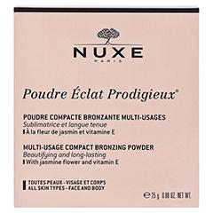 NUXE Poudre Eclat Prodigieux Bronze-Kompaktpuder 25 Gramm - Vorderseite