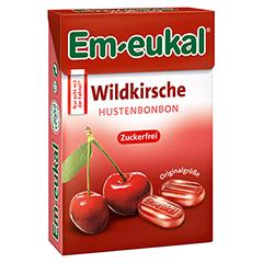 EM EUKAL Bonbons Wildkirsche zuckerfrei Box 50 Gramm