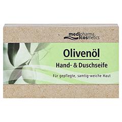 OLIVENÖL HAND- & Duschseife 100 Gramm - Vorderseite