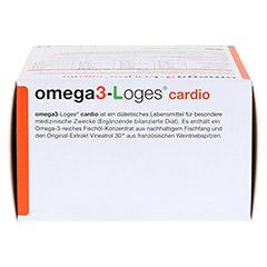 OMEGA 3-Loges cardio Kapseln 120 Stück - Oberseite
