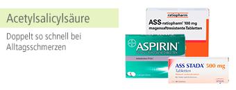 Wirkstoff Acetylsalicylsäure Themenshop