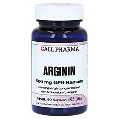 ARGININ 500 mg GPH Kapseln 60 Stück