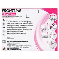 FRONTLINE Tri-Act Lsg.z.Auftropfen f.Hunde 40-60kg 3 Stück - Rückseite