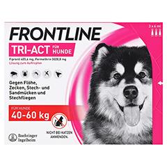 FRONTLINE Tri-Act Lsg.z.Auftropfen f.Hunde 40-60kg 3 Stück - Vorderseite