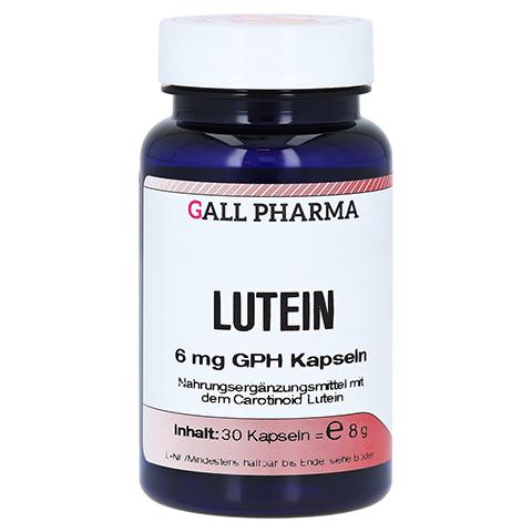 LUTEIN 6 mg Kapseln 30 Stück