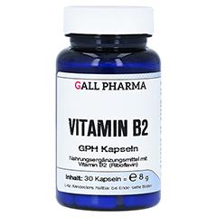 VITAMIN B2 GPH 1,6 mg Kapseln 30 Stück