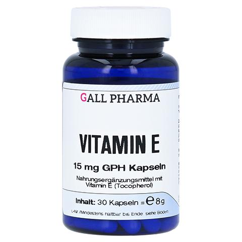 VITAMIN E 15 mg GPH Kapseln 30 Stück