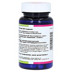 CRANBERRY 400 mg GPH Kapseln 60 Stück - Rechte Seite