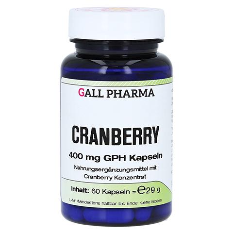 CRANBERRY 400 mg GPH Kapseln 60 Stück
