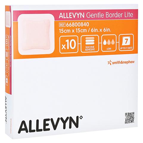ALLEVYN Gentle Border Lite 15x15 cm Schaumverb. 10 Stück